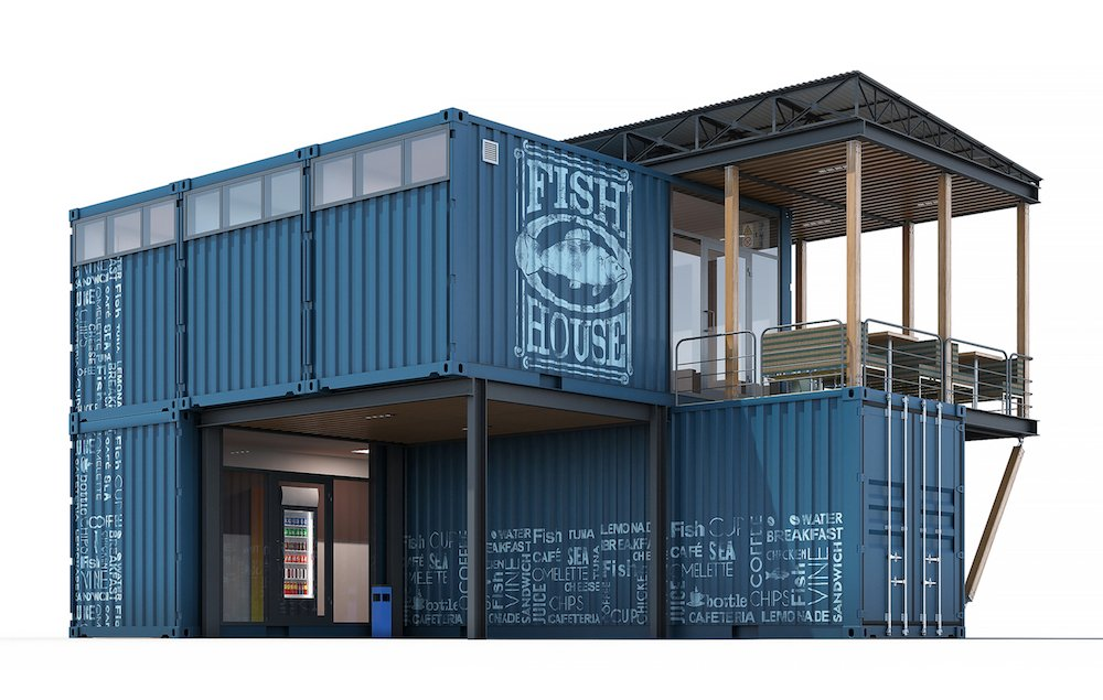 Container Shops For Work